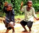 Happy Afro Kids.
